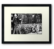 George Romero, The Joy of Directing Framed Print
