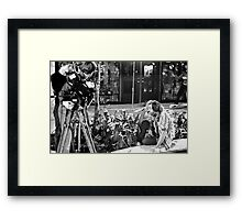 George Romero, The Pain of Directing Framed Print