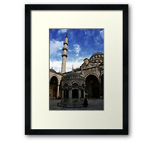 New Mosque Istanbul Framed Print