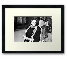 George Romero Again Framed Print