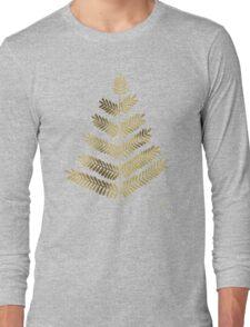 Gold Leaflets Long Sleeve T-Shirt