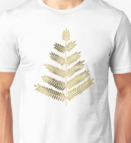 Gold Leaflets Unisex T-Shirt