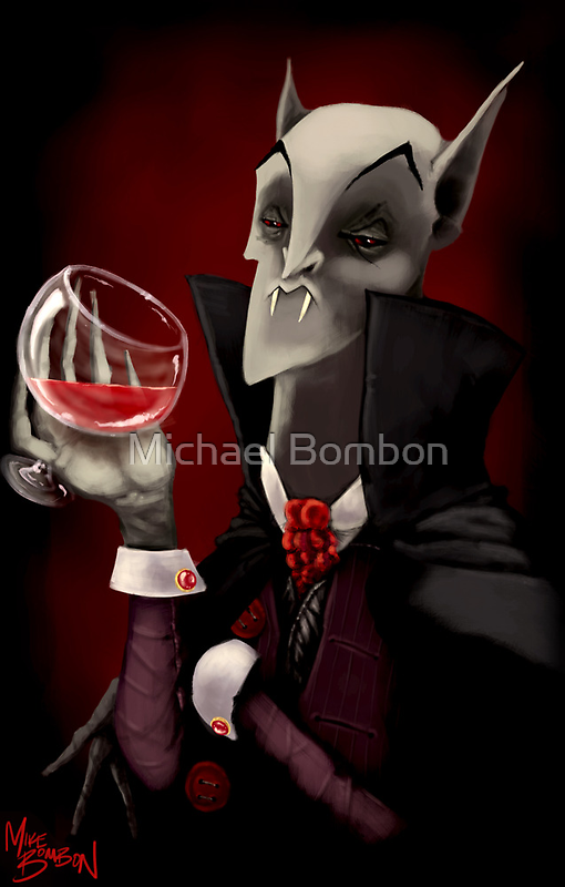 The Vampyre by Michael Bombon
