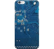 Electronic circuit board iPhone Case/Skin