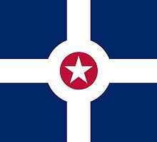 indianapolis flag by tony4urban