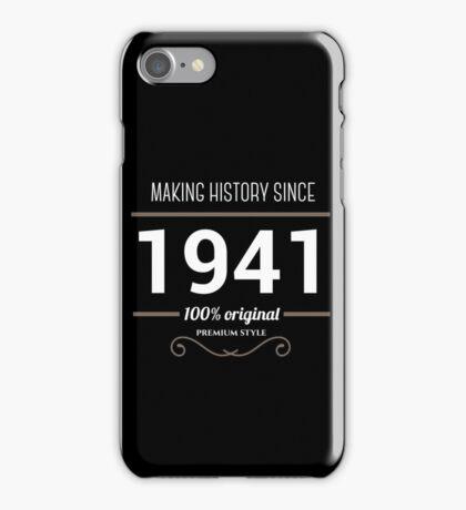 Making historia since 1941 iPhone Case/Skin
