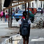On the way to school, Havana, Cuba by buttonpresser