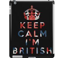 I'm British iPad Case/Skin