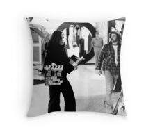 Crew on Location 1978 Throw Pillow