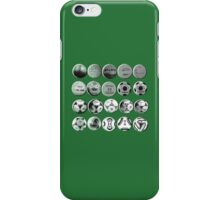 World Cup Footballs iPhone Case/Skin