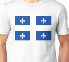 quebec flag Unisex T-Shirt