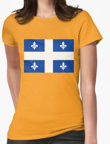 quebec flag Womens Fitted T-Shirt