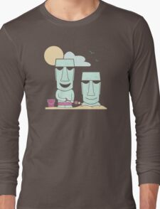 Easter Island Summer Fun Long Sleeve T-Shirt