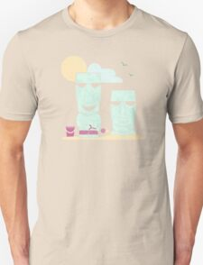 Easter Island Summer Fun Unisex T-Shirt