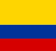 flag of colombia by tony4urban