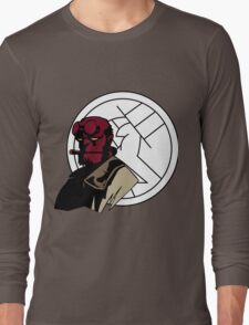 Minimalist Hellboy B.P.R.D. Long Sleeve T-Shirt