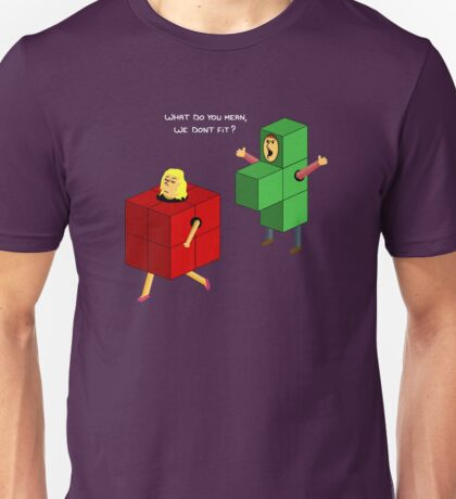 The Wrong Fit Unisex T-Shirt
