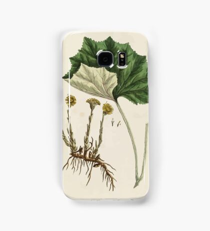 A curious herbal Elisabeth Blackwell John Norse Samuel Harding 1737 0522 Colts Foot or Poles Foot Samsung Galaxy Case/Skin