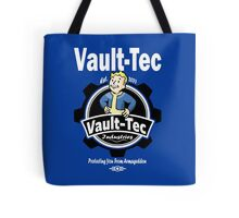 Vault Tec Industries - Protecting You From Armageddon Tote Bag