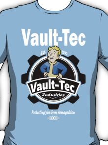 Vault Tec Industries - Protecting You From Armageddon T-Shirt
