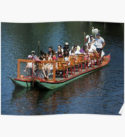 The Swan Boat  Poster