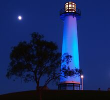 The Lighthouse at Dusk #1 by Stephen Burke