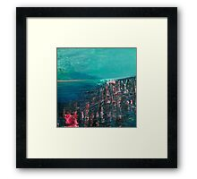 the deep sea Framed Print