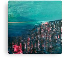 the deep sea Canvas Print