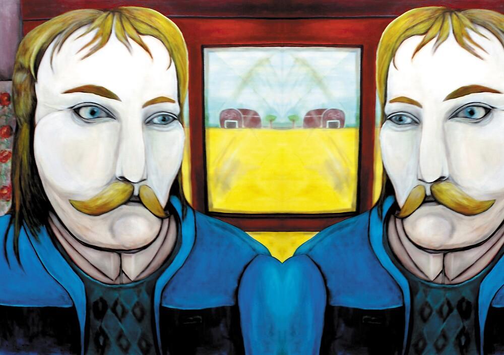 Daniel Day-Lewis lookalike - hidden at home by Mariana Bueno