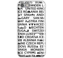 European Capitals  iPhone Case/Skin