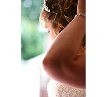 The Timid Bride Photographic Print