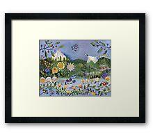 Perennially Playful Portland Framed Print