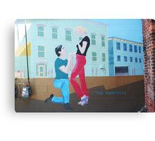 The Proposal Canvas Print