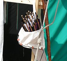 Arrows waiting to be shot by patjila