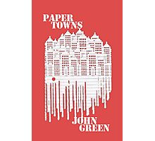 Paper Towns Red Photographic Print