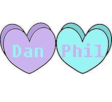 Phan Hearts by pixelpandas