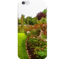 Impressions of London – Queen Mary's Garden at Regent's Royal Park iPhone Case/Skin