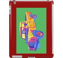1971 Land Rover Pick up Truck Pop Art iPad Case/Skin