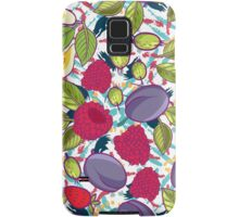 Tribal and Sweet berries seamless Samsung Galaxy Case/Skin