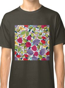 Tribal and Sweet berries seamless Classic T-Shirt