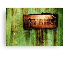 OnePhotoPerDay Series: 204 by L. Canvas Print