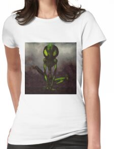 Frog King by Sarah Kirk Womens Fitted T-Shirt