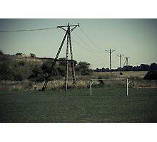 powerline Photographic Print