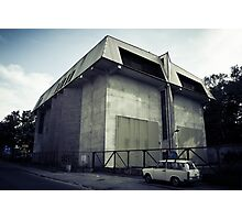 a substation and a trabant Photographic Print