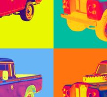 1971 Land Rover Pick up Truck Pop Art Sticker