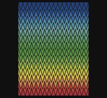 Chevron rainbow by Fiona Doyle