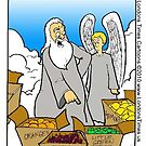 God Didn't Make Little Green Apples by Londons Times Cartoons by Rick  London