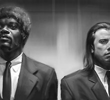 Pulp fiction by RalucaMarinescu