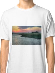 Sunset over Hallig Hooge - HDR Classic T-Shirt
