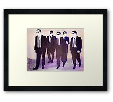 mr purple Framed Print